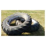 (2) Firestone All Traction Champion  Tires. 14.9