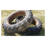 (2) Firestone All Traction Field Tires. 13.6 - 38