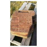 75 Lbs Massey Ferguson suitcase Weight. 2 Times
