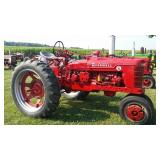 IH McCormick Farmall super H Tricycle tractor