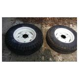 2 Goodyear lawn And Garden Tires And Rims