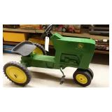 Ford Pedal Tractor Painted As A John Deere