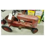McCormick Farmall 400  Pedal Tractor With Wood