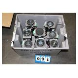 (8) LNS-W13A Lenses for Eiki LC-X80 Projector