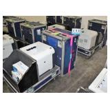 (2) HP LaserJet P4515n Laser Printer
