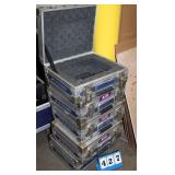 "Travel Cases, Approx. 13""W x 11""D x 5""H"