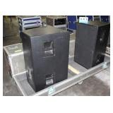 "(2) Eastern Acoustic Works SB600E 15"" Subwoofers"