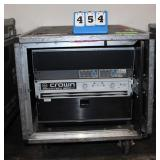 Console w/(1) TDM 24CX-2 Stereo 2-Way Crossover,