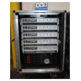 Console w/(4) Crown Macro Tech 24x6 Amplifiers,