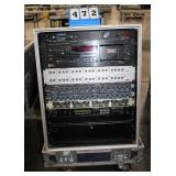 Console w/(1) Furman PL-8 Power Conditioner,