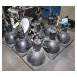 "(10) 14"" Stage Lights,"