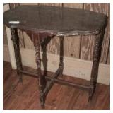 OLD SOLID WOOD OCCASIONAL TABLE