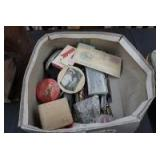 BOX LOT OF CURIOSITIES INCLUDING 23RD ANNUAL WORLD