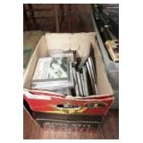 BOX LOT OF MUSIC CDS INCLUDING DEEP PURPLE, EARL SCRUGGS, RUSH, AND MORE