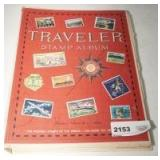OLD STAMP COLLECTING BOOK