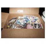 BOX FILLED WITH HUNDREDS OF BASEBALL CARDS