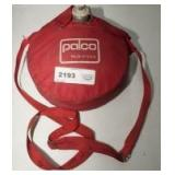 VINTAGE PALCO METAL CANTEEN WITH CARRY BAG