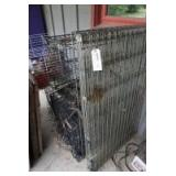 5 LARGE WIRE FRAME ANIMAL CAGES