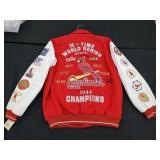 St. Louis Cardinals 10 Time World Series Jacket