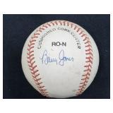1991 Expos Multi Signed Baseball W/ Barry Jones