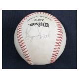 Bryan Smith Multi Signed Wilson Baseball