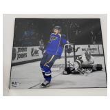 Vladimir Tarasenko Signed 1st NHL Goal Photo