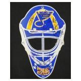 St Louis Blues Multi Signed Goalie Mask Print