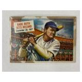 1954 Topps Babe Ruth Sets Record #41
