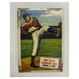 1954 Topps Bob Feller Strikeout King #27