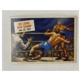 1954 Topps Joe Louis New Champ #40
