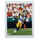 Isaac Bruce Rams Signed 8x10 Photo