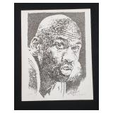 Michael Jordan Print Signed By Artist