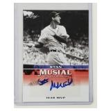 2015 Leaf Stan Musial Signed Card #MA-SM6