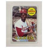 1969 Topps Lou Brock St. Louis Cardinals #85