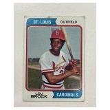 1974 Topps Lou Brock St. Louis Cardinals #60