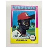 1975 Topps Lou Brock St. Louis Cardinals #540