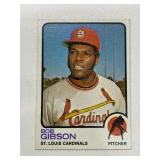 1973 Topps Bob Gibson St. Louis Cardinals #190