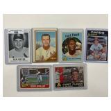 Ken Boyer, Curt Flood Cardinals Baseball Cards