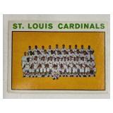 1964 Topps 1963 St. Louis Cardinals #87