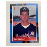 1997 Donruss Leaf Rookie Tom Glavine #644