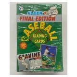 1993 Fleer Baseball Final Edition Cards Sealed