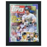 1990 Topps Magazine Premier Issue W/ Cards