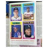 1991 Topps Magazine W/ Uncut Cards Cal Ripken Jr