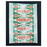 1951 Topps Baseball Doubles Playing Card Red Back