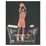 1998 Upper Deck Michael Jordan Standing Figure #3