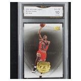 2009 UD Michael Jordan #76 Gold Gem MT 10