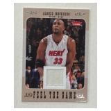 2008 Fleer Alonzo Mourning Relic Card FG-AM