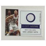 2002 Fleer Keith Van Horn Relic Card