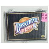 1992 Baskerball Heroes 10-18 Wilt Chamberlain Set