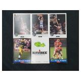 Kaybee Classic Football Uncut Cards